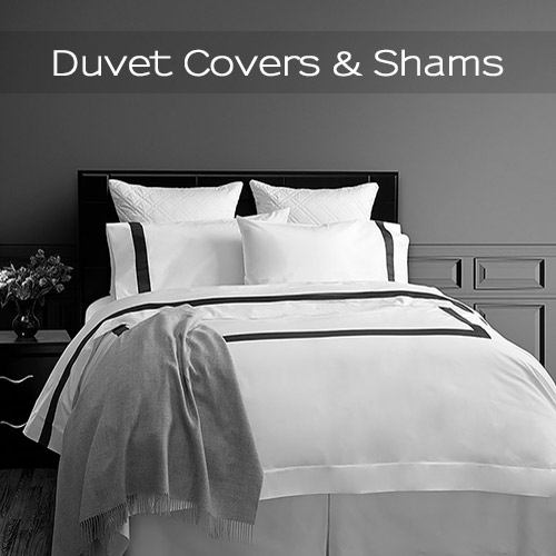 Luxury Italian Duvet Covers & Shams