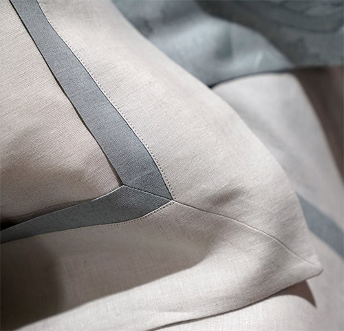 Impeccable craftsmanship goes into the construction of our luxury bedding