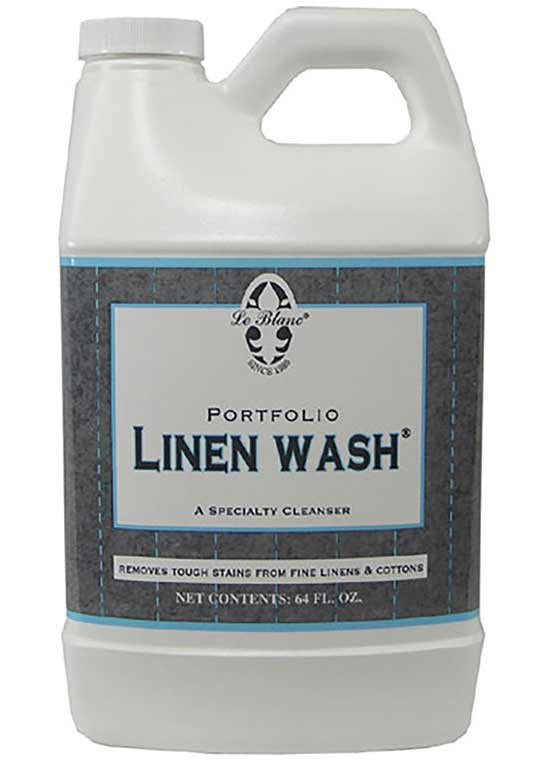Le Blanc linen wash is an excellent detergent specifically formulated for cotton bed sheets