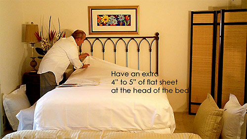 Make your bed look perfect