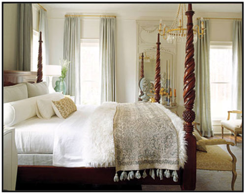 What are the best colors to use for bedding & linens?